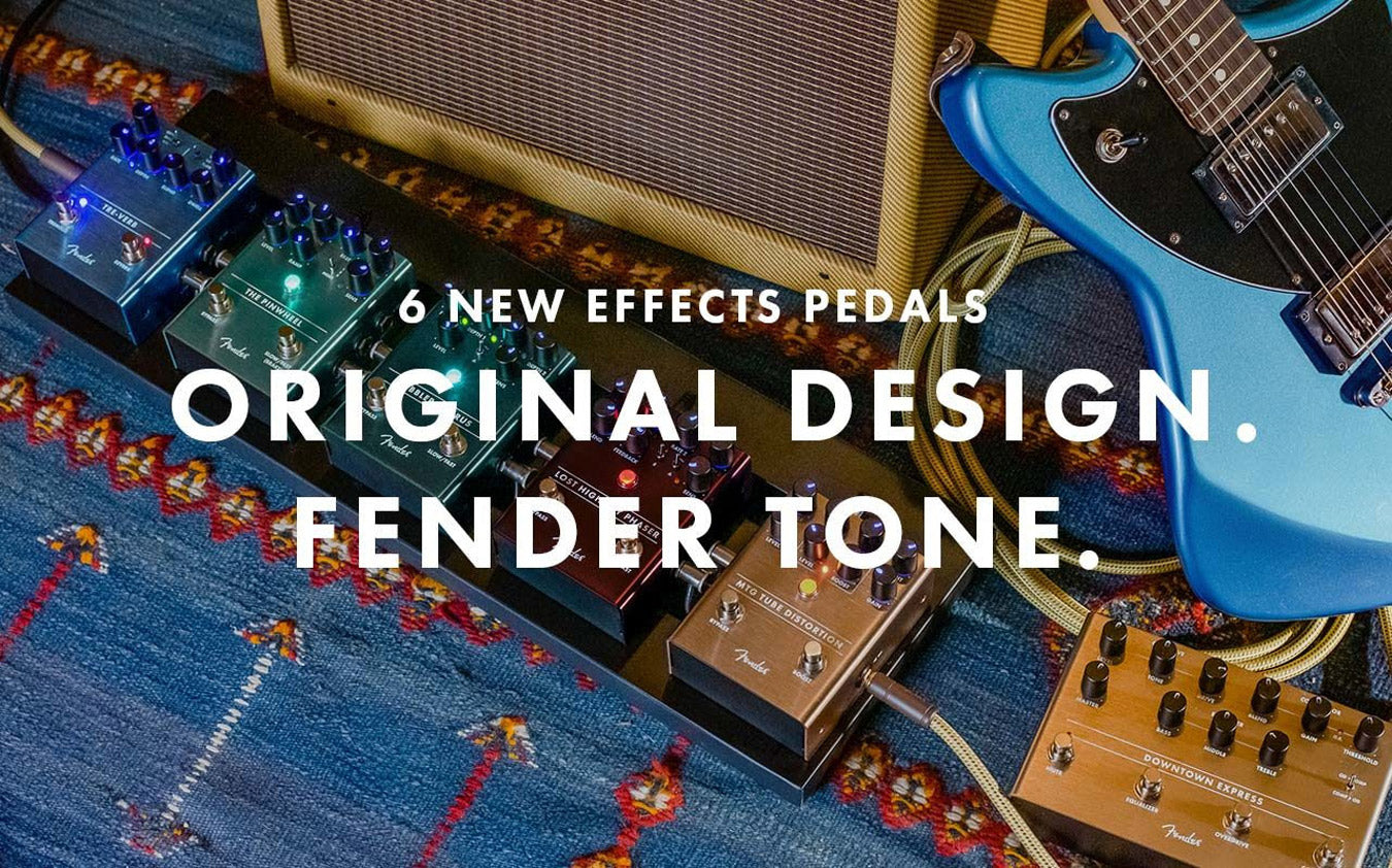 New Fender Pedals