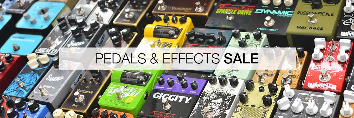pedals and effects sale