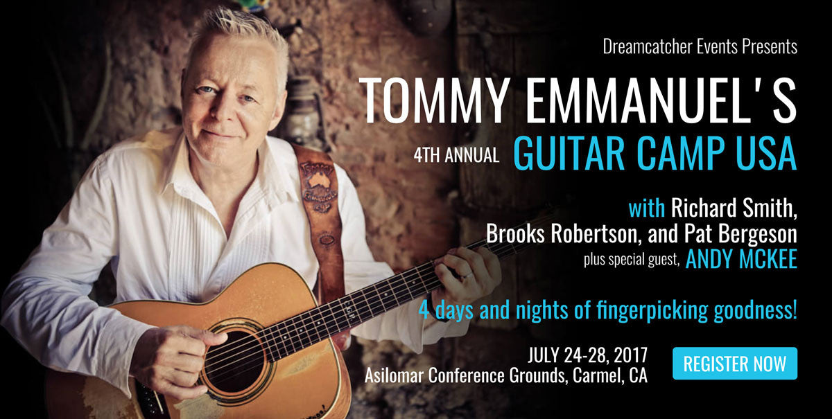 Tommy Emmanuel's Guitar Camp USA 2017