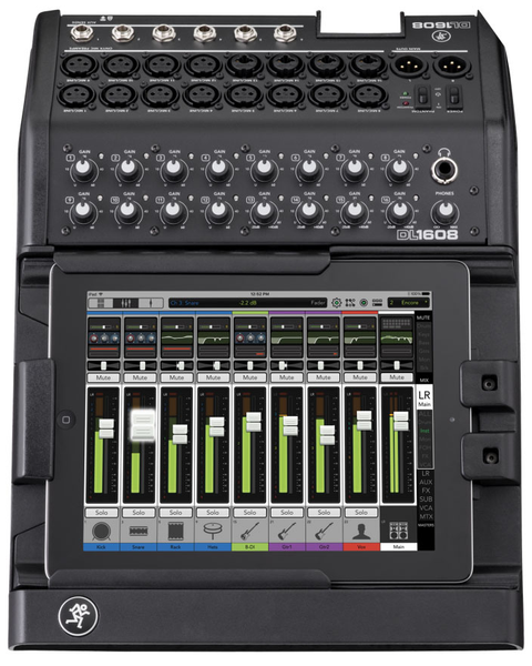 Mackie DL1608 16-channel Digital Live Sound Mixer with iPad Control Lightning