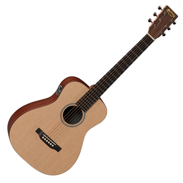 Martin LXME Little Martin Acoustic Electric Guitar - Bananas at Large
