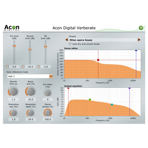 Acon Verberate Surround Reverb with Surreal Realism [Download] - Bananas At Large®