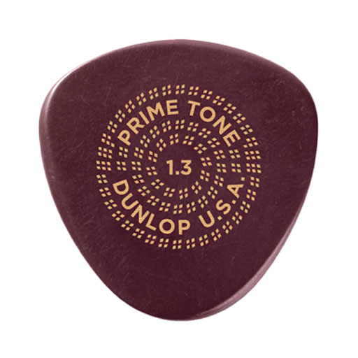 Dunlop 515P Primetone Semi-Round Sculpted Plectra 3-Pack - Bananas at Large