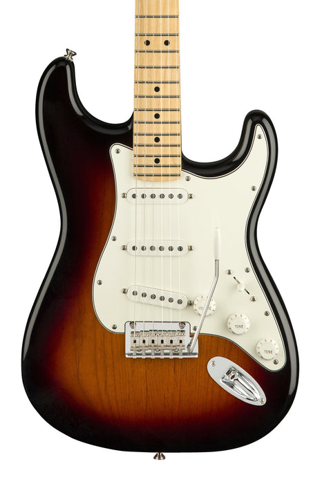 Fender Player Stratocaster with Maple Fingerboard - Three Color Sunburst