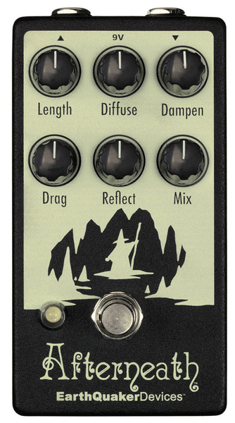 Earthquaker Devices Afterneath V2 Reverb Pedal - Bananas at Large - 1
