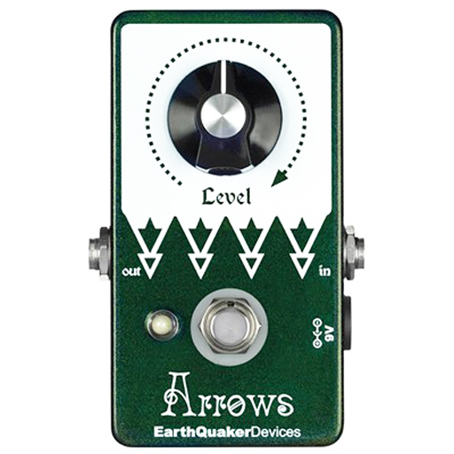 EarthQuaker Devices Arrows Pre-Amp Booster - Bananas At Large®