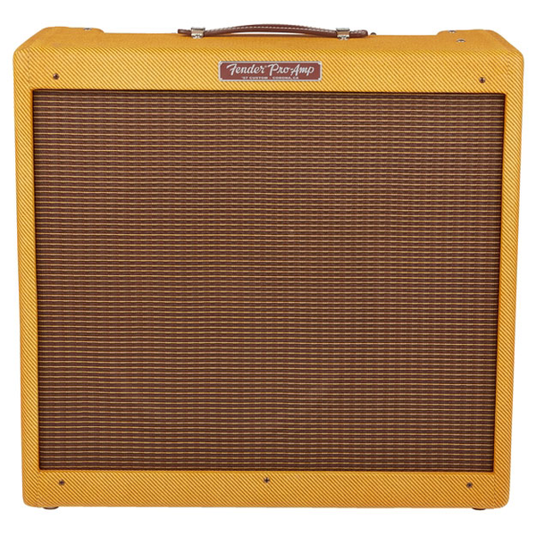 Fender '57 Custom Pro-Amp 26-Watts, 1x15, Guitar Combo Amplifier - Bananas at Large - 1