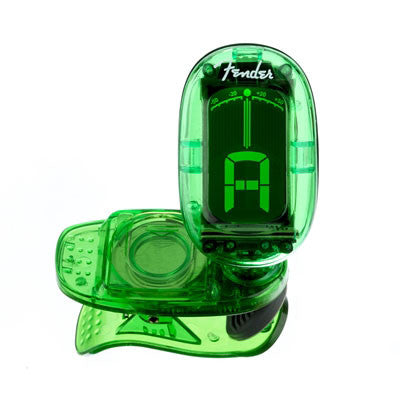 Fender California Series Clip-On Tuner - Green - Bananas at Large - 2