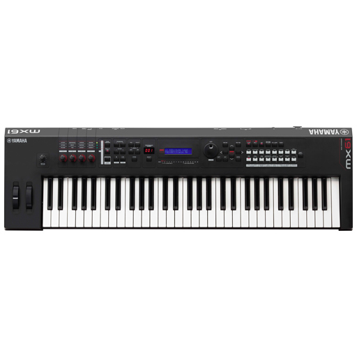 Yamaha MX61 Music Production Synthesizer Keyboard, 61-Key - Bananas at Large