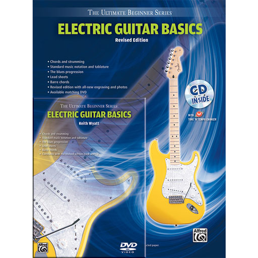 Alfred Ultimate Beginner Series Mega Pak, Electric Guitar Basics, Revised Editio - Bananas At Large®