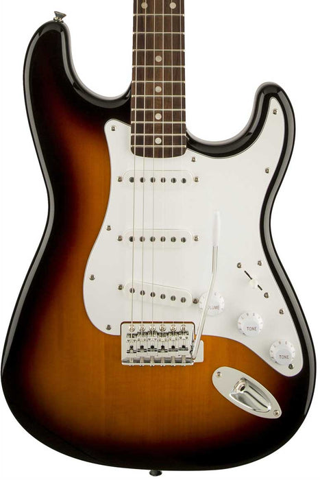 Squier Affinity Series Stratocaster with Laurel Fingerboard - Brown Sunburst