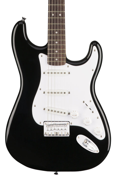 Squier Bullet Stratocaster Hard Tail with Laurel Fretboard - Black