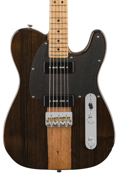 Fender 2017 Limited Edition Malaysian Blackwood Telecaster 90 - Natural