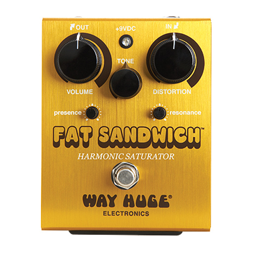 Way Huge WHE301 Fat Sandwich Distortion Pedal - Bananas at Large