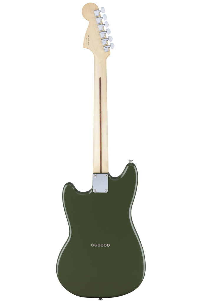 Fender Mustang with Maple Fingerboard - Olive - Bananas At Large®