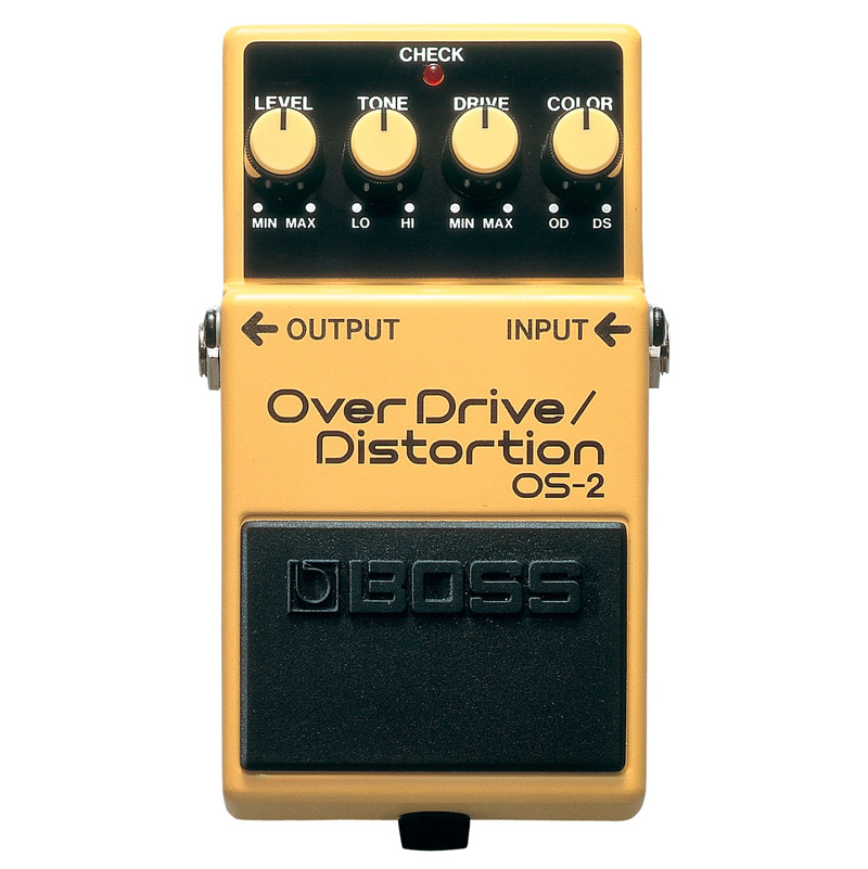 Boss OS-2 Overdrive and Distortion Pedal - Bananas at Large