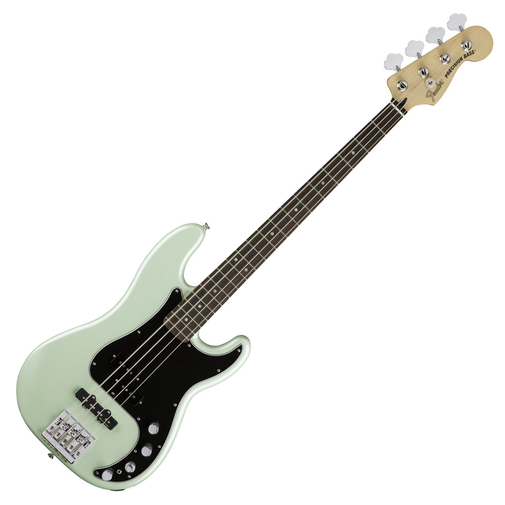 Fender Deluxe Active Precision Bass Special with Rosewood Fingerboard - Surf Pearl - Bananas at Large - 1