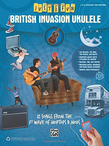 Alfred Just for Fun: British Invasion Ukulele
