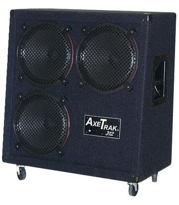 AxeTrak 3x12 Iso Guitar Cab, Black with Built In Mic - Bananas at Large