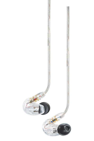 Shure SE215 Sound Isolating Earphones - Clear - Bananas at Large
