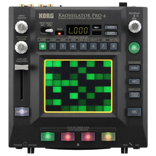Korg KOPRO+ Kaossilator Pro Plus - More Sounds - Bananas At Large®