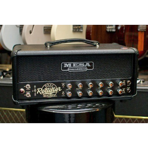 Mesa/Boogie Recto-Verb 25-Watt Head Black with Black Grille - Bananas at Large