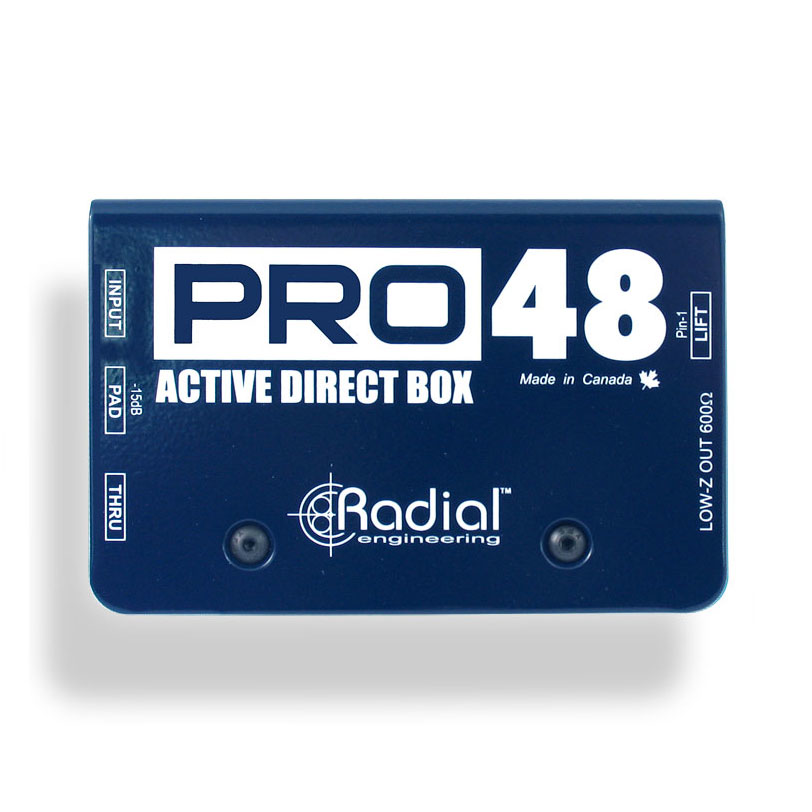 Radial Pro48 Phantom Powered Active Direct Box - Bananas at Large - 1
