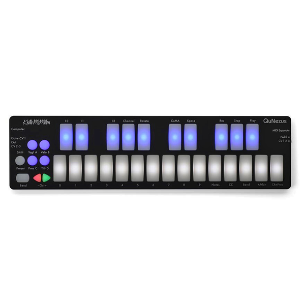 Keith Mcmillen Instruments QuNexus Keyboard Controller - Bananas At Large®