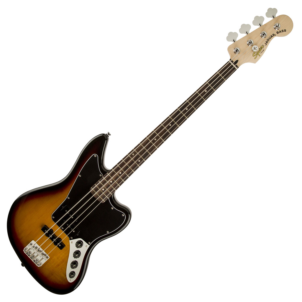 Squier Vintage Modified Jaguar Bass Special with Rosewood Fingerboard - 3 Color Sunburst - Bananas at Large