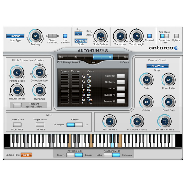 Antares Auto-Tune Vocal Studio 8 Native [Download] - Bananas At Large®