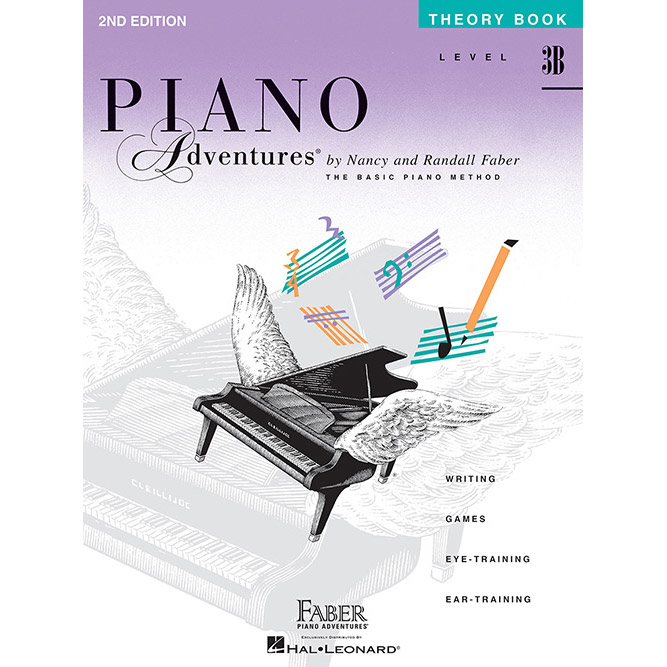 Hal Leonard Piano Adventures Level 3B Theory Book 2nd Edition - Bananas At Large®
