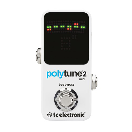 TC Electronic PolyTune 2 Mini Compact Polyphonic Guitar Tuner - Bananas at Large