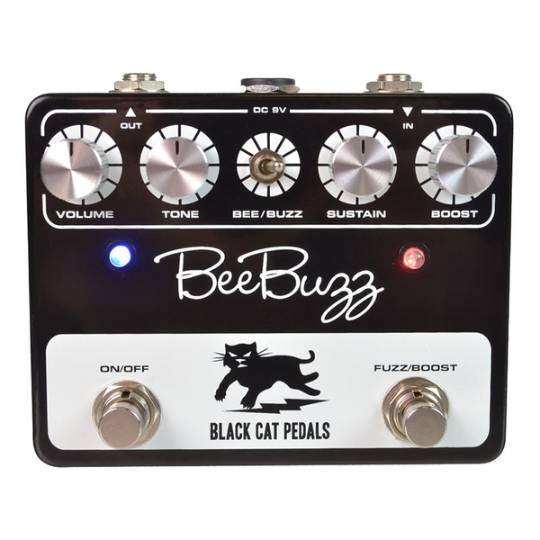 Black Cat Pedals Bee Buzz Pedal - Bananas at Large