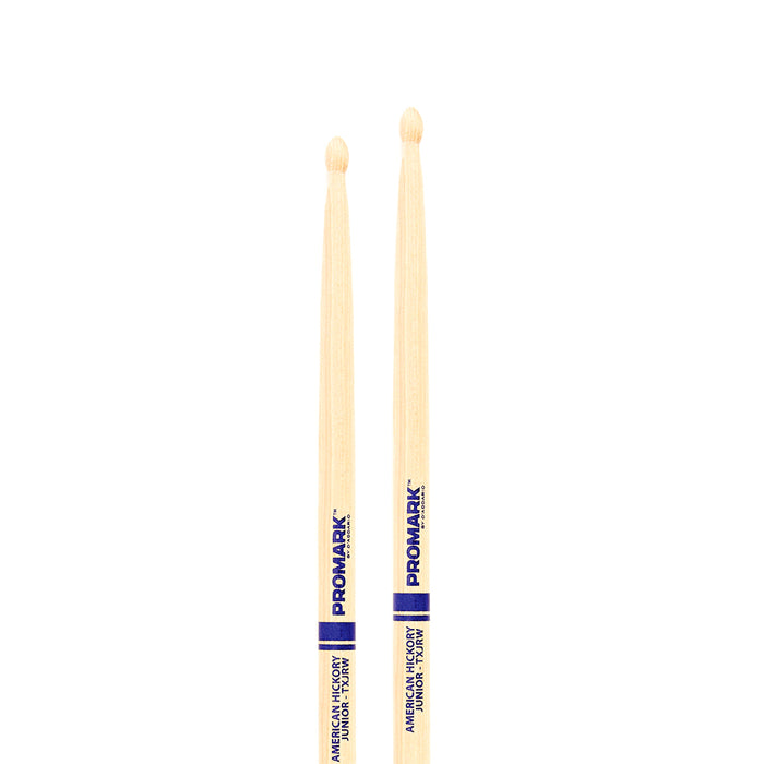 Pro-Mark TXJRW Classic Junior Hickory Wood Tip Drumstick (Pair)