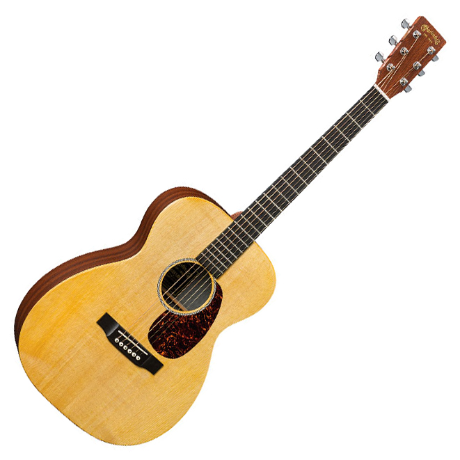 Martin 00X1AE X Series 6 String Acoustic Electric Guitar - Natural - Bananas at Large