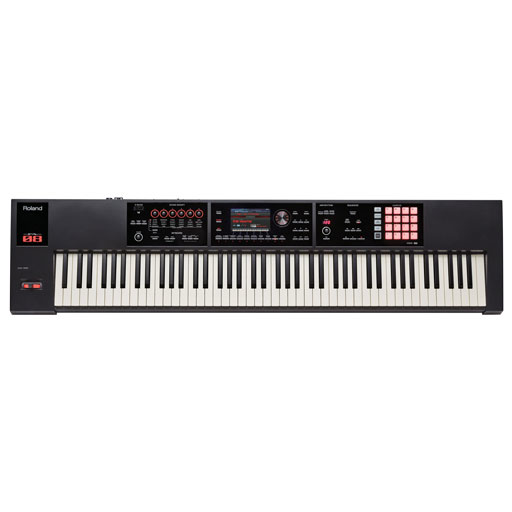 Roland FA-08 88 Weighted Key Music Workstation - Bananas at Large