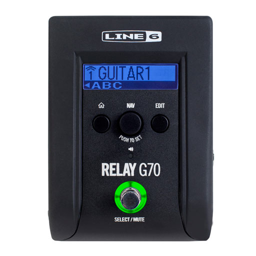 Line 6 Relay G70  Digital Wireless Guitar Pedal System - Bananas at Large