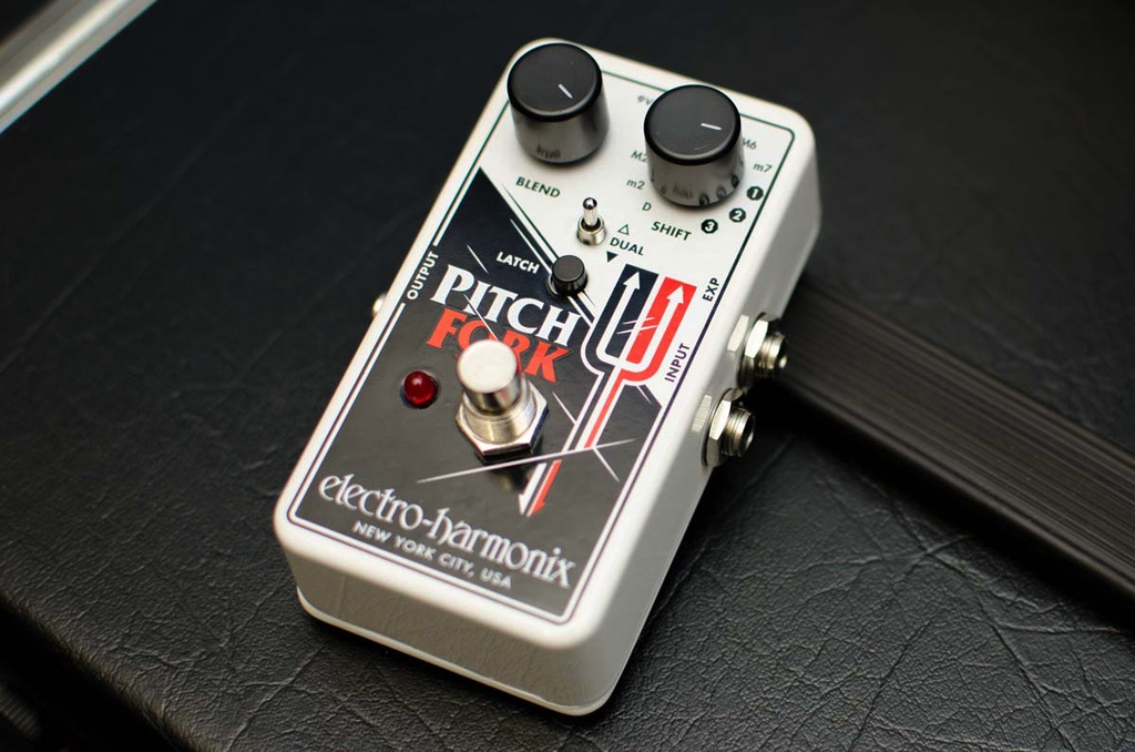 PITCH FORK Polyphonic Pitch Shifter/Harmony Pedal 9.6DC-200 PSU included - Bananas at Large - 2