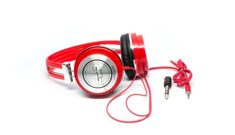 CAD MH100R Closed-Back Studio Headphones - Red - Bananas at Large - 3