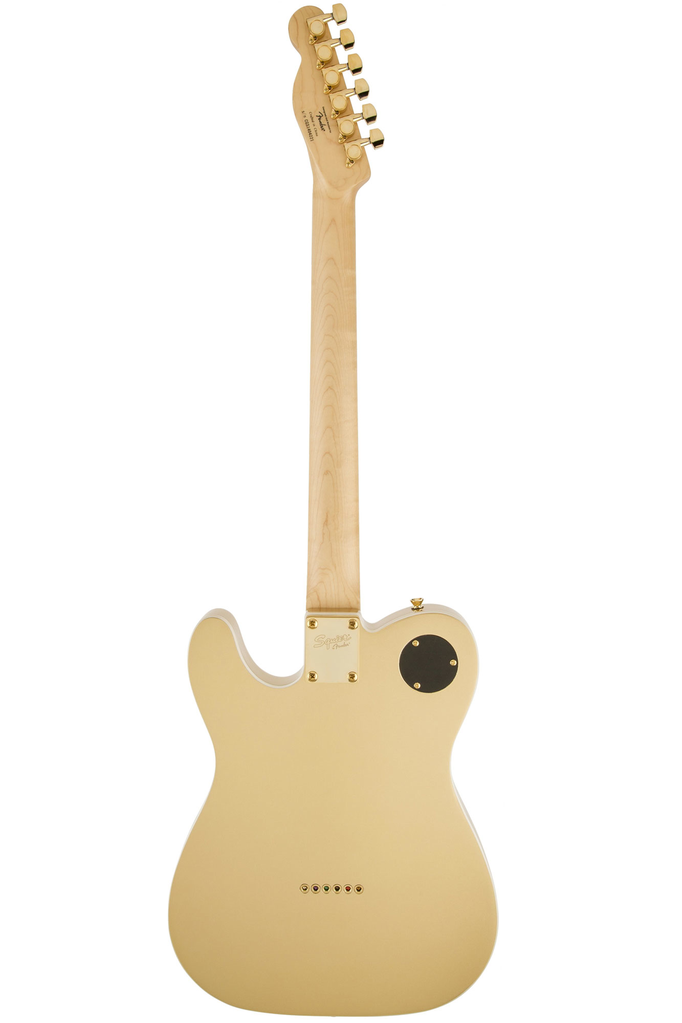 Squier J5 Telecaster with Rosewood Fingerboard - Frost Gold - Bananas at Large - 3