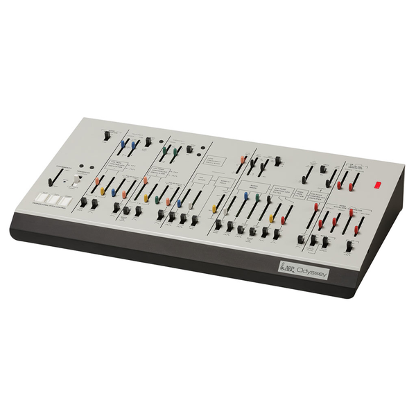 Korg ARP Odyssey Module 1 Duophonic Desktop Synthesizer - White - Bananas At Large®