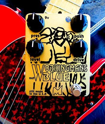 Menatone Workingmans Blue Overdrive Pedal - Bananas at Large