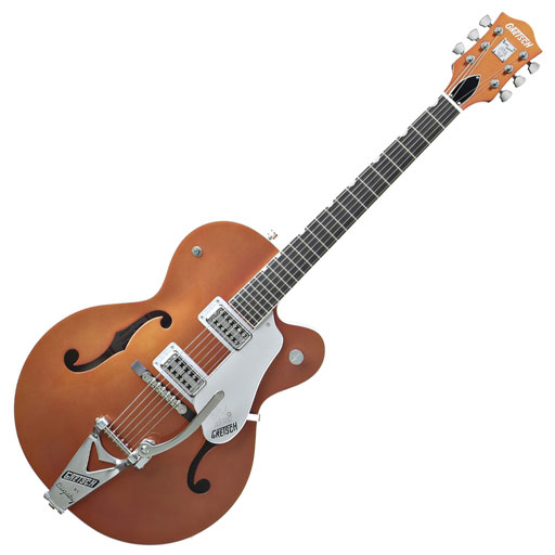 Gretsch G6120TV Brian Setzer Hot Rod Hollow Body - Tangerine (All Sales Final) - Bananas At Large®