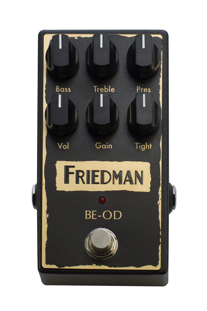 Friedman BE-OD Brown Eye Overdrive Pedal - Bananas At Large®