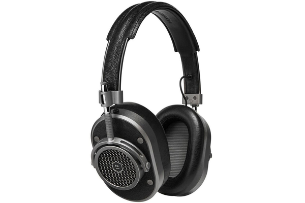 Master & Dynamic MH40 Over Ear Headphones - Gunmetal with Black Leather
