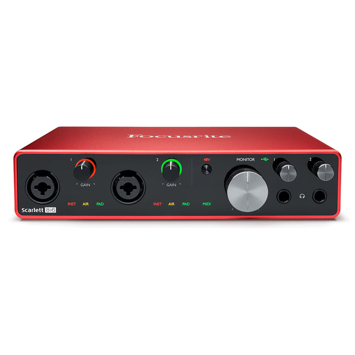 Focusrite Scarlett 8i6 3rd Gen USB Audio Interface