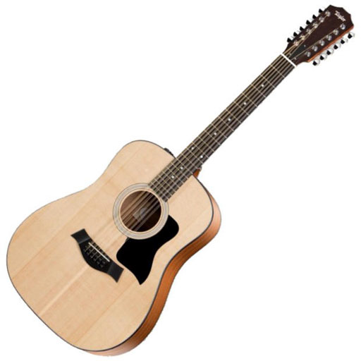 Taylor 150e 12-String Dreadnought Electric/Acoustic, ES2 - Bananas at Large