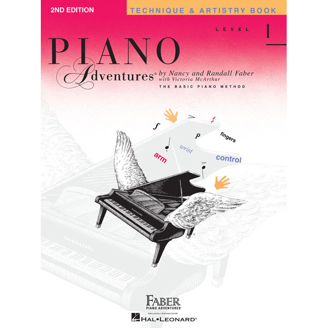 Hal Leonard Piano Adventures Level 1 Technique and Artistry Book 2nd Edition - Bananas At Large®
