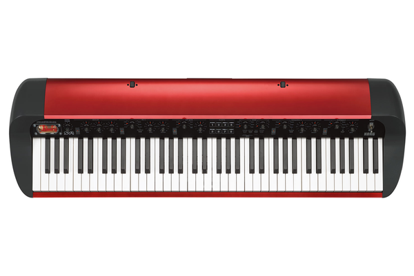 Korg SV-1 73 Key Stage Piano in Limited Edition Metallic Red