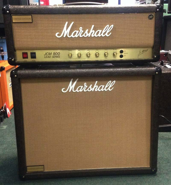 Marshall LTD JCM800 with 1936v Western Tolex (All Sales Final) - Bananas at Large